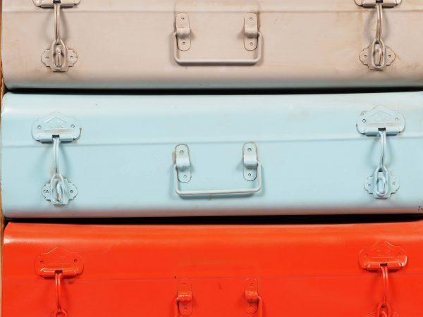 dulap stil vintage valize
