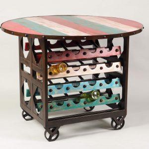 vinoteca pe roti 32 sticle