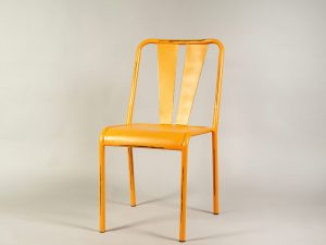 scaun bar portocaliu