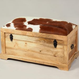 cufar lemn si piele capra