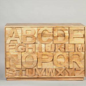 dulap Alphabet cu sertare pe diverse dimensiuni