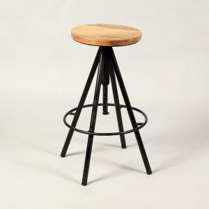scaun bar rotativ extensibil