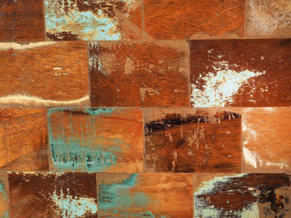 dulap lemn reciclat mozaic