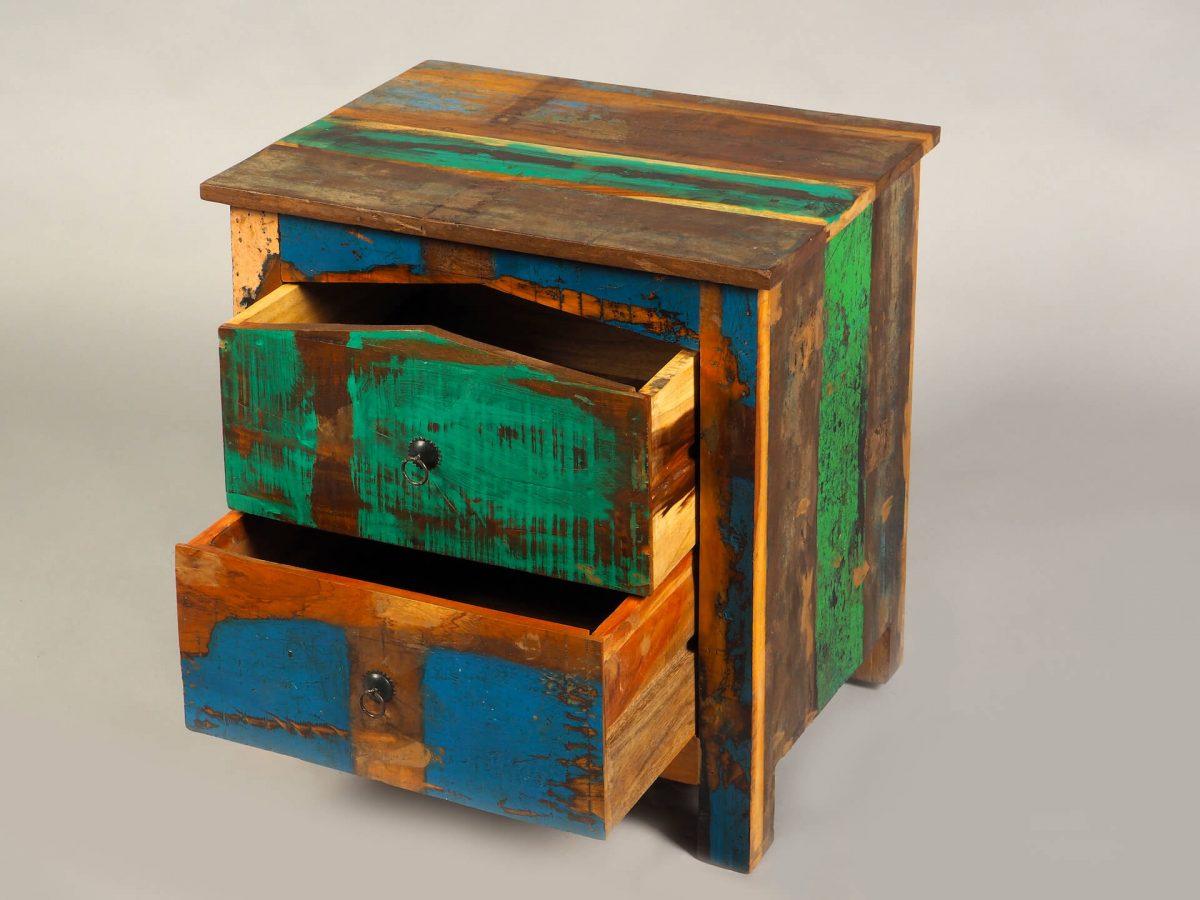 noptiera design exotic lemn reciclat