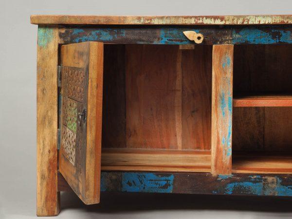 comoda TV lemn reciclat India