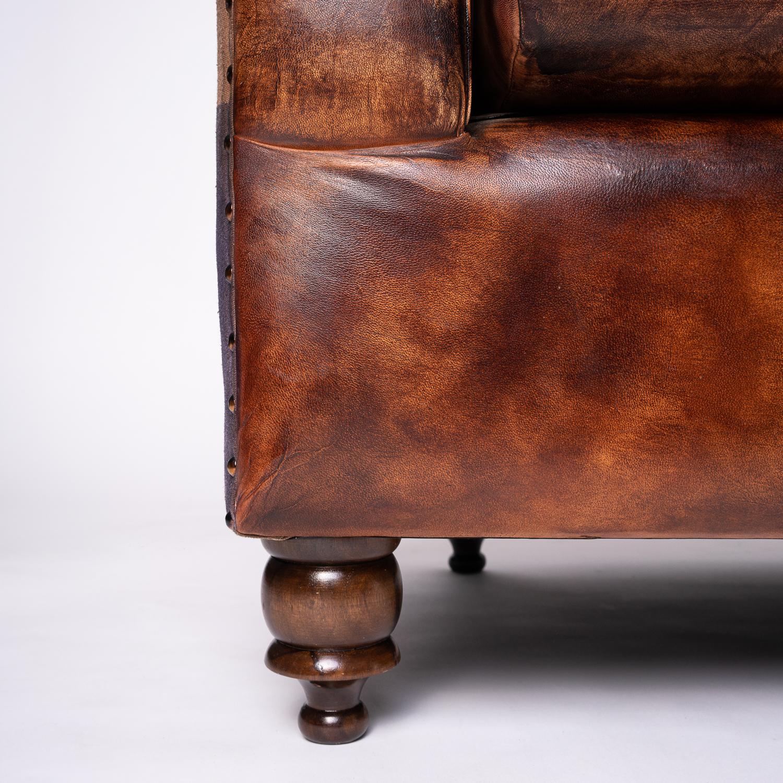 canapea piele Westminster 6 detaliu picior