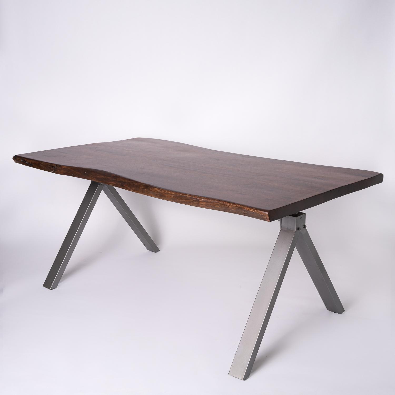 masa dining lemn masiv Sidhi vedere ansamblu